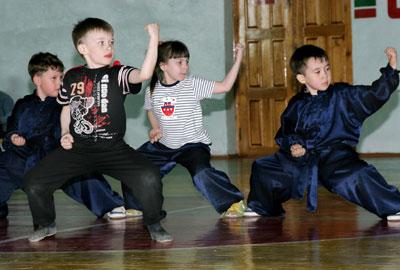 Ушу для детей в Киеве