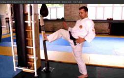 Урок 4: Прямой удар ноги