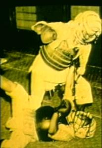 """Защитное снаряжение """"богу"""", 1932 год"""