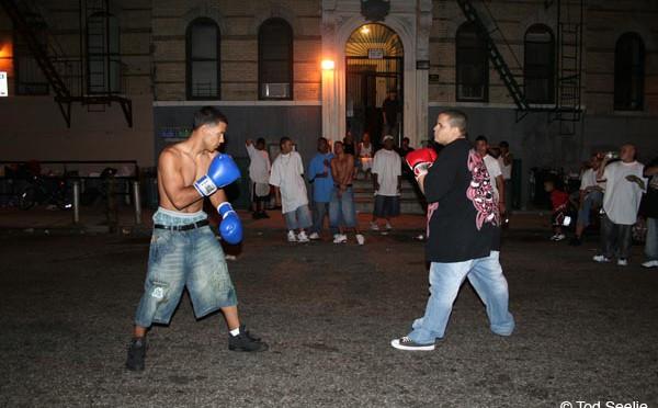Уличный бокс