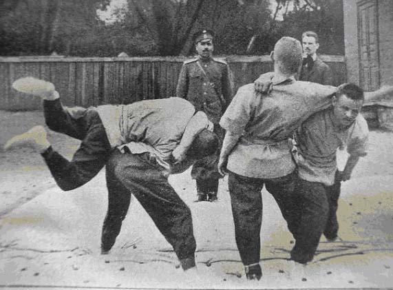 История рукопашного боя