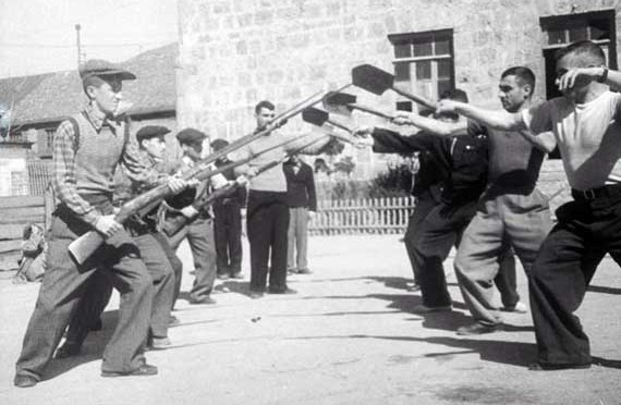 Рукопашный бой в первые годы Советской власти