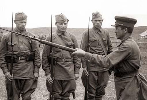 1941 год, обучение рукопашному бою,