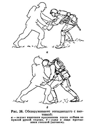 Рукопашный бой в ВОВ