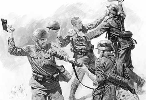 Рукопашный бой в Великую Отечественную