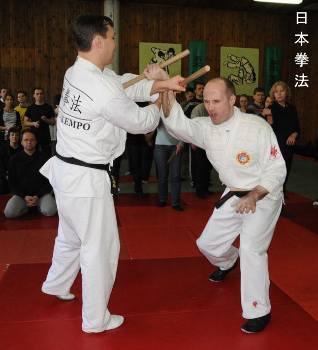 Танбо - палка для японского боя