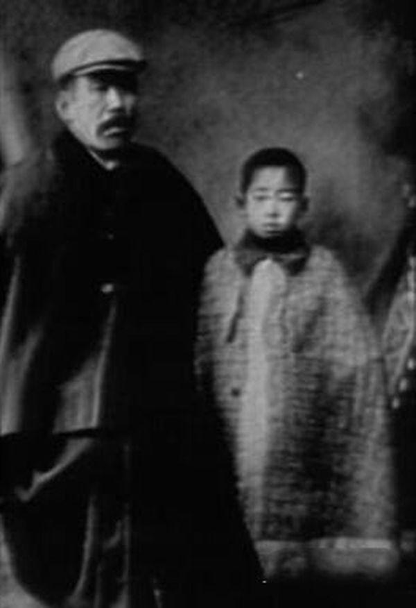 Саваяма Масару и отец Кендо Масару