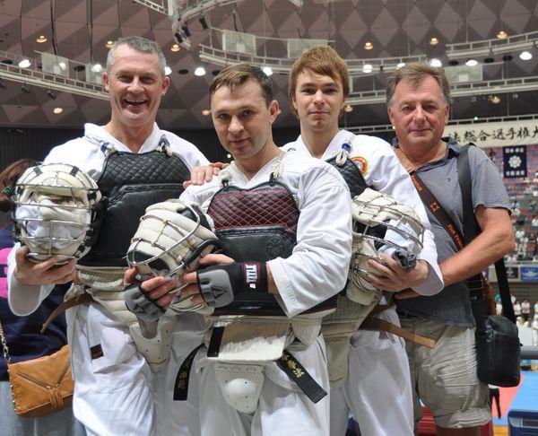 команда Украины Ниппон кэмпо