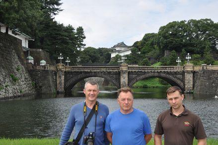 Япония замок императора
