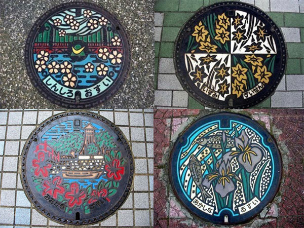 Япония канализационные люки