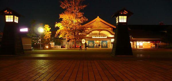 Токио Оэдо Онсэн, вход в комплекс геотермальных японских бань