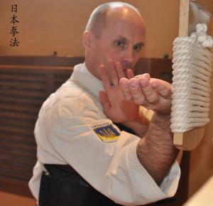 Тренировка на макиваре