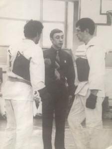 Эксперементы с экипировкой г.Винница 1981. Спиной Осипов А.Н.