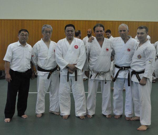 Участники тренинга Шиханы из Японии и учителя из Европы