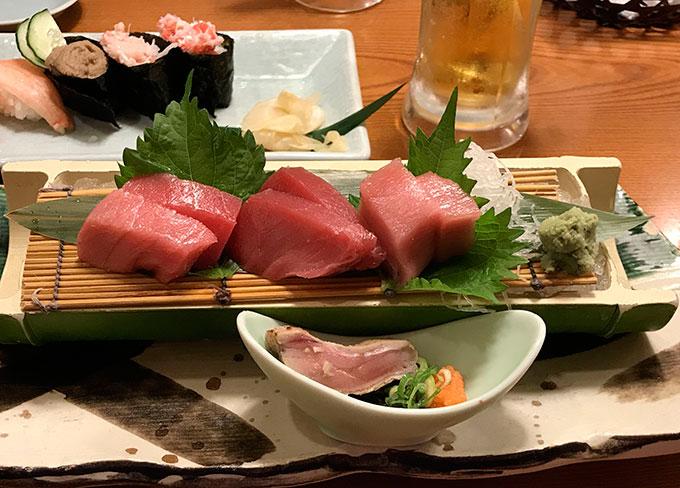 Ужин в Японии