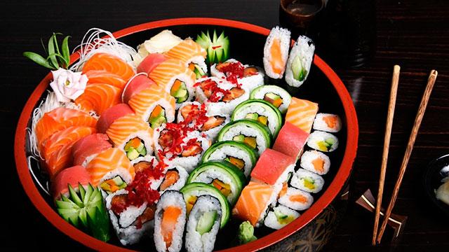 """Японская кухня """"васёку"""" во всей красе"""