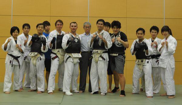 Гейко в Университете Токио