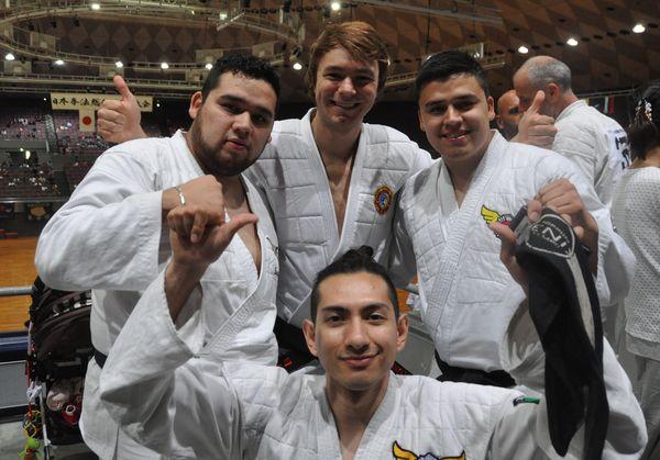 На турнире в Японии спортсмены Мексики и Украины
