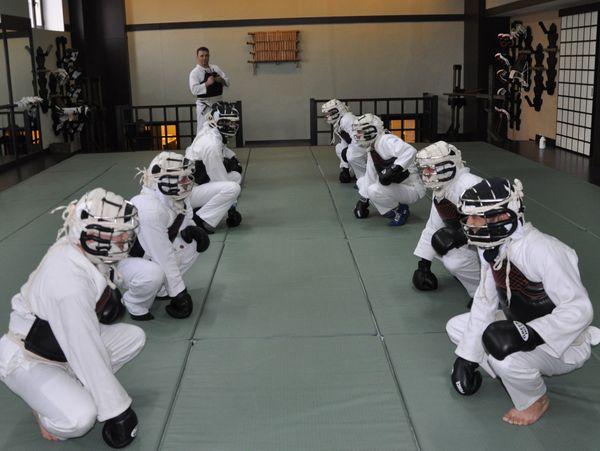 Тренировка в Ниппон кэмпо