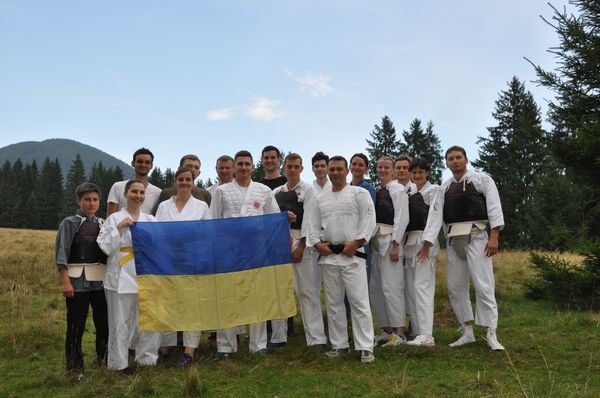 Гассуку Ягай Кейко - летний тренировочный лагерь Ниппон Кэмпо в Украине