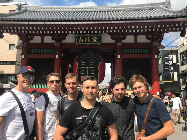 Ниппон Кэмпо украинцы в Японии