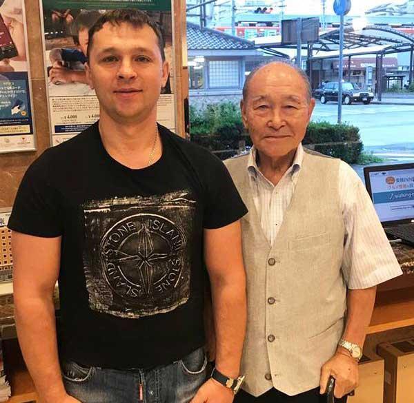 Hideo Doya and Vyacheslav Zhuravlev