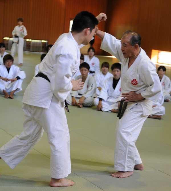 Акиро Айя и Хидео Дойя