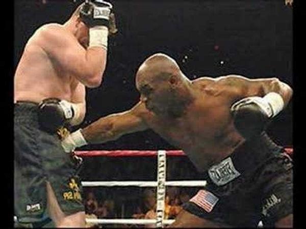 Защита боксера