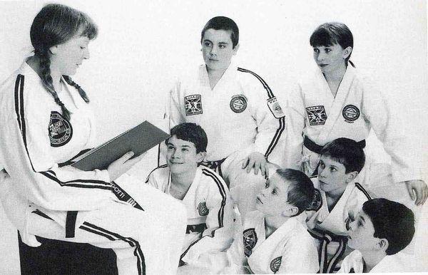 Дети и рукопашный бой
