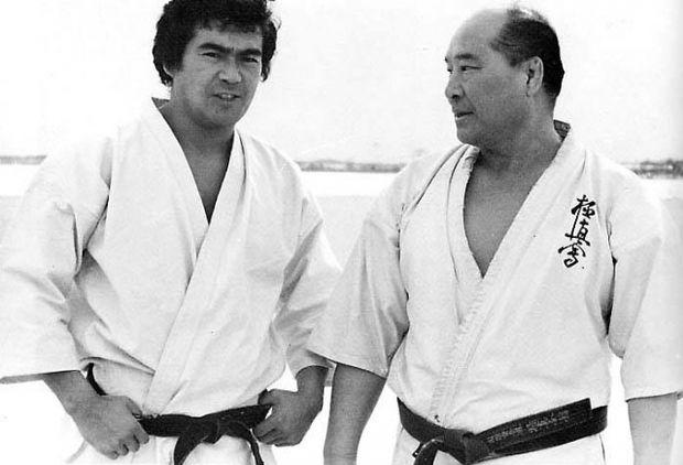 Сони Чиба и Ояма Масатцу