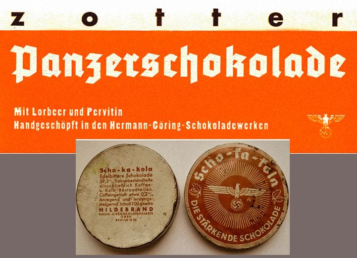 Panzershokolade c первитином