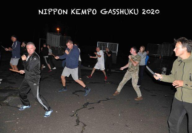Гашуку Ниппон кэмпо ночь