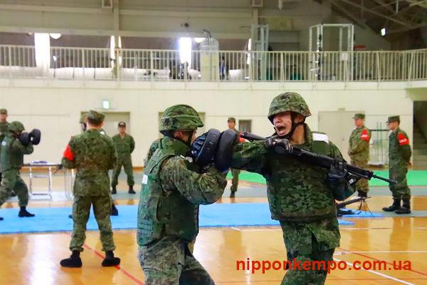 Тренировка в японской армии